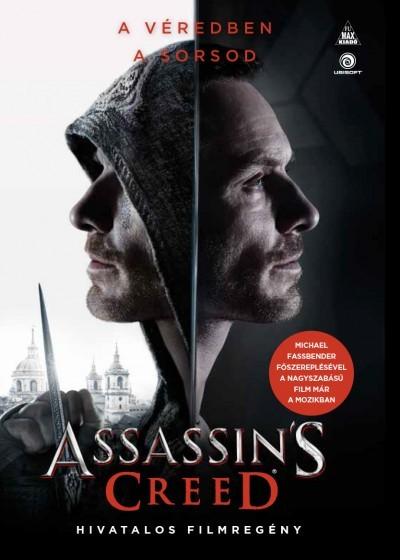 Christie Golden - Assassin's Creed: A hivatalos filmregény (Új példány, megvásárolható, de nem kölcsönözhető!)