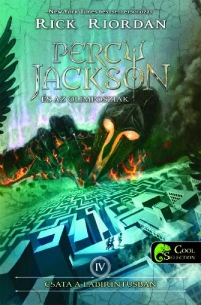 Rick Riordan-Csata a labirintusban (Percy Jackson és az olimposziak 4.)