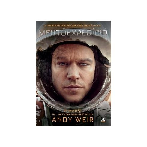Andy Weir-A marsi/Mentőexpedíció (új példány)