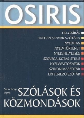 Szemerkényi Ágnes - Szólások és közmondások (új példány)