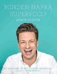 Jamie Oliver-Minden napra superfood (Új példány, megvásárolható, de nem kölcsönözhető!)