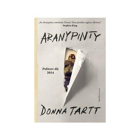 Donna Tartt -  Az aranypinty - PUHA (új példány)