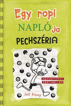 Jeff Kinney-Egy ropi naplója 8.-Pechszéria (Új példány, megvásárolható, de nem kölcsönözhető!)