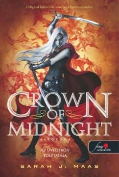 Sarah J. Maas-Crown of midnight-Éjkorona (új példány)