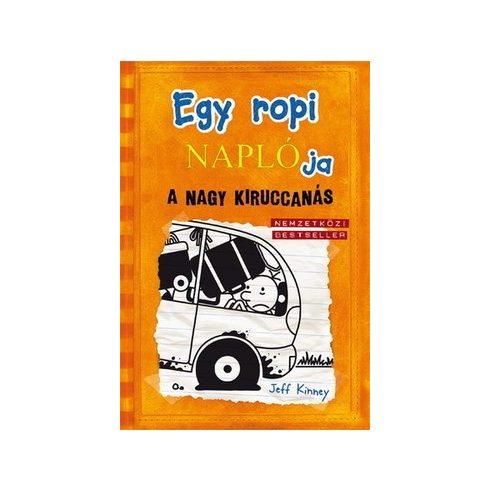 Jeff Kinney-Egy ropi naplója 9.-A nagy kiruccanás (új példány)