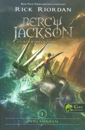 Rick Riordan - A villámtolvaj (Percy Jackson és az olimposziak 1.) (új példány)