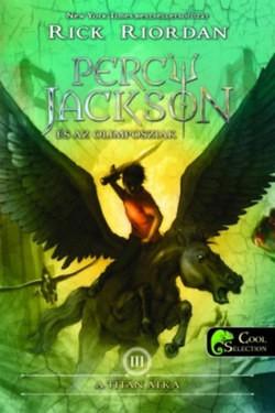 Rick Riordan-A titán átka (Percy Jackson és az olimposziak 3.) (új példány)