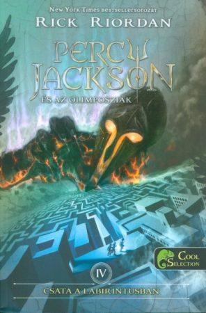 Rick Riordan-Csata a labirintusban (Percy Jackson és az olimposziak 4.) (új példány)