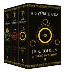 J. R. R. Tolkien - A Gyűrűk Ura I-III. (Új példány, megvásárolható, de nem kölcsönözhető!)