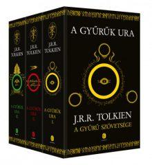 J. R. R. Tolkien - A Gyűrűk Ura I-III. (új példány)