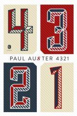 Paul Auster - 4 3 2 1 (új példány)