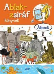 Ablak-zsiráf könyvek - Állatok (új példány)