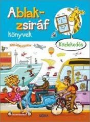 Ablak-zsiráf könyvek - Közlekedés (új példány)