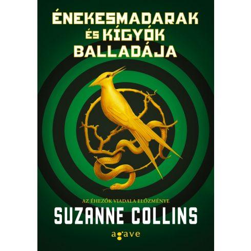 Suzanne Collins - Énekesmadarak és kígyók balladája (új példány)