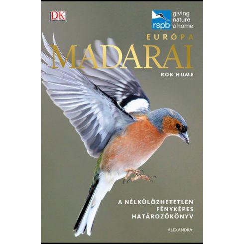 Rob Hume - Európa madarai (új példány)