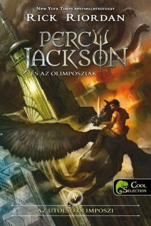 Rick Riordan - Percy Jackson és az olimposziak 5. - Az utolsó olimposzi (új példány)