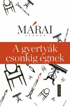 Márai Sándor-A gyertyák csonkig égnek (új példány)