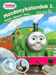 Thomas: Mozdonykalandok 2. /Harold - Spencer - Percy