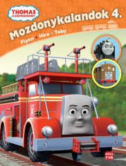 Mozdonykalandok 4. - Thomas a gőzmozdony (új példány)