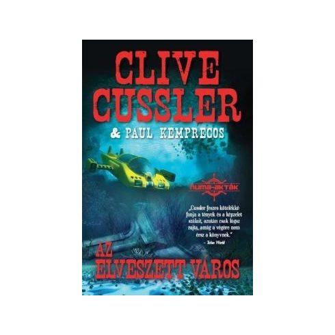 Clive Cussler-Az elveszett város (új példány)