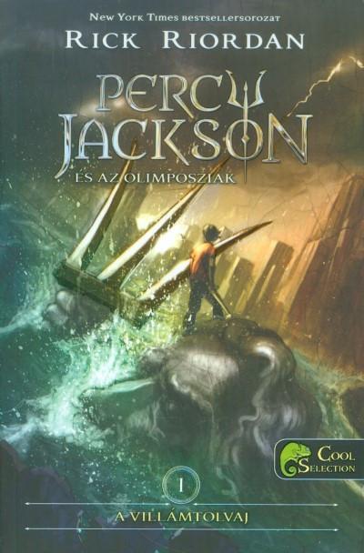 Rick Riordan - A villámtolvaj (Percy Jackson és az olimposziak 1.) (Új példány, megvásárolható, de nem kölcsönözhető!)