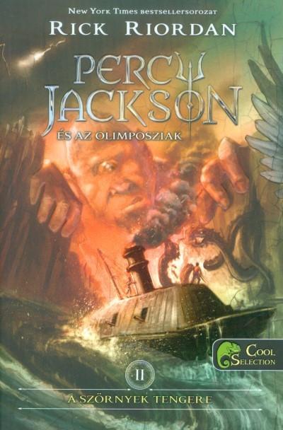 Rick Riordan - A szörnyek tengere (Percy Jackson és az olimposziak 2.) (Új példány, megvásárolható, de nem kölcsönözhető!)
