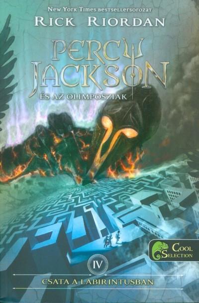 Rick Riordan-Csata a labirintusban (Percy Jackson és az olimposziak 4.) (Új példány, megvásárolható, de nem kölcsönözhető!)