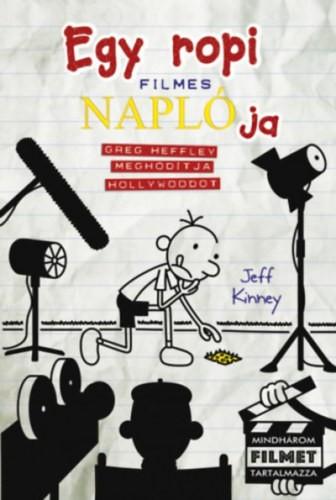 Jeff Kinney-Egy ropi filmes naplója (Új példány, megvásárolható, de nem kölcsönözhető!)